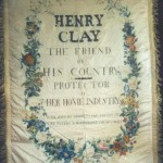 1844 Presidential cmapaign banner carried in parades and rallies in support of Henry Clay